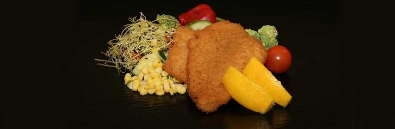 poisson pané legumes