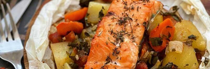 saumon plat