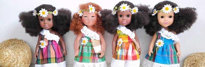 poupées noires