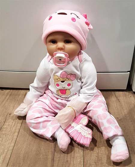 bébé réaliste fille