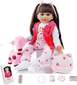 poupée fille reborn de grande taille