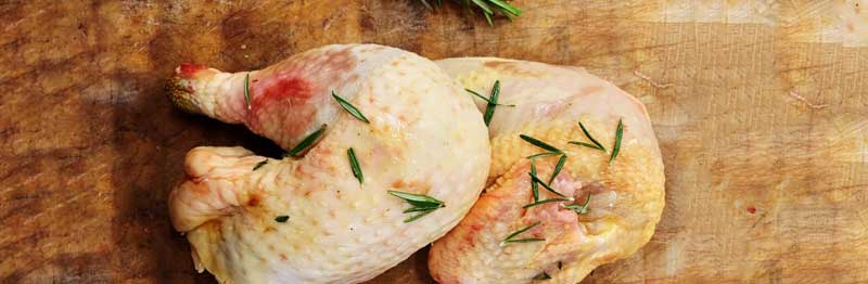 viande blanche à cuir